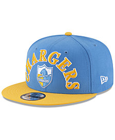 New Era Los Angeles Chargers Retro Logo 9FIFTY Snapback Cap