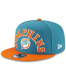 New Era Miami Dolphins Retro Logo 9FIFTY Snapback Cap