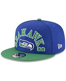 New Era Seattle Seahawks Retro Logo 9FIFTY Snapback Cap