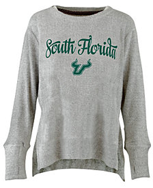 Pressbox Women's South Florida Bulls Cuddle Knit Sweatshirt