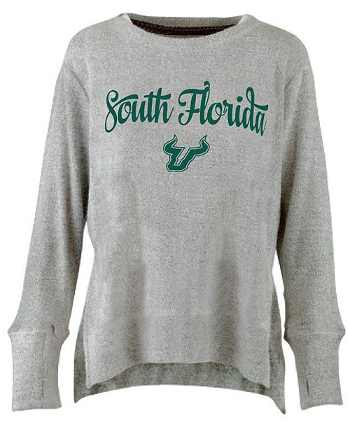 Pressbox Women's South Florida Bulls Cuddle Knit Sweatshirt