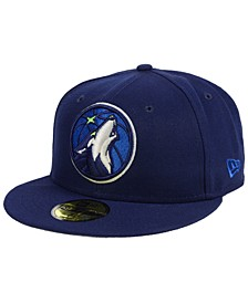 Minnesota Timberwolves Basic 59FIFTY Fitted Cap 2018
