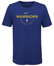 Nike Golden State Warriors Elite Practice T-Shirt, Big Boys (8-20)