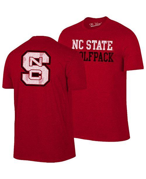 Retro Brand Men's North Carolina State Wolfpack Team Stacked Dual Blend T-Shirt