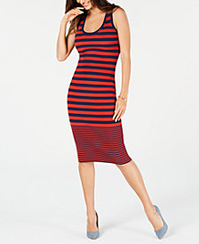 MICHAEL Michael Kors Striped Sweater Dress