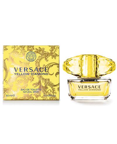 Versace Yellow Diamond Eau de Toilette, 1.7 oz - Shop All ...