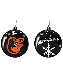 "Memory Company Baltimore Orioles 3"" Sled Glass Ball"