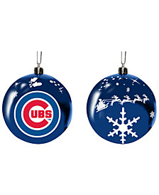 "Memory Company Chicago Cubs 3"" Sled Glass Ball"