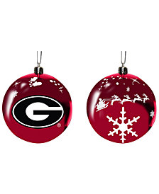 "Memory Company Georgia Bulldogs 3"" Sled Glass Ball"