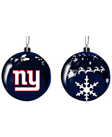 "Memory Company New York Giants 3"" Sled Glass Ball"