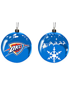 "Memory Company Oklahoma City Thunder 3"" Sled Glass Ball"