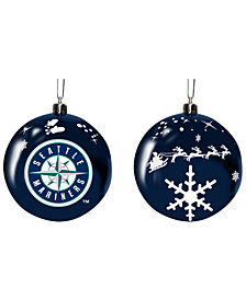 "Memory Company Seattle Mariners 3"" Sled Glass Ball"