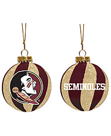 "Memory Company Florida State Seminoles 3"" Sparkle Glass Ball"