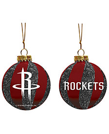 "Memory Company Houston Rockets 3"" Sparkle Glass Ball"