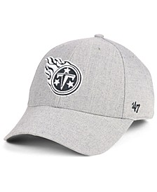 Tennessee Titans Heathered Black White MVP Adjustable Cap