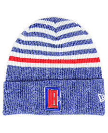 New Era Los Angeles Clippers Striped Cuff Knit Hat