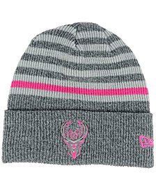 New Era Milwaukee Bucks Striped Cuff Knit Hat