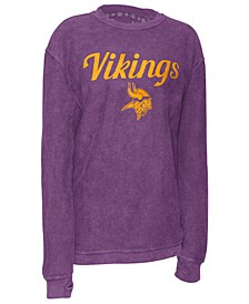Women's Minnesota Vikings Comfy Cord Top