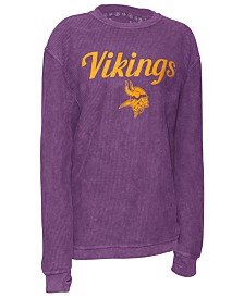 Pressbox Women's Minnesota Vikings Comfy Cord Top