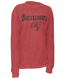 Pressbox Women's Tampa Bay Buccaneers Comfy Cord Top