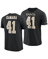 Nike Men s Alvin Kamara New Orleans Saints Pride Name and Number Wordmark  T-Shirt 12192864812e