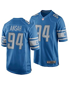Men's Ezekiel Ansah Detroit Lions Game Jersey
