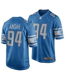 Nike Men's Ezekiel Ansah Detroit Lions Game Jersey