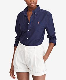 Polo Ralph Lauren Relaxed Fit Oxford Cotton Shirt