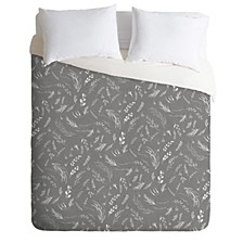 Iveta Abolina Study in Gray X Twin Duvet Set