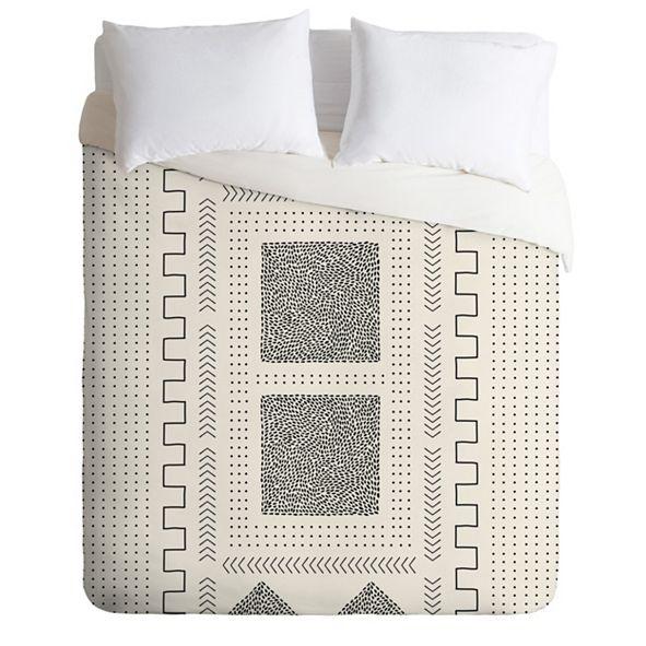Deny Designs Iveta Abolina Mud Cloth Inspo II Twin Duvet Set