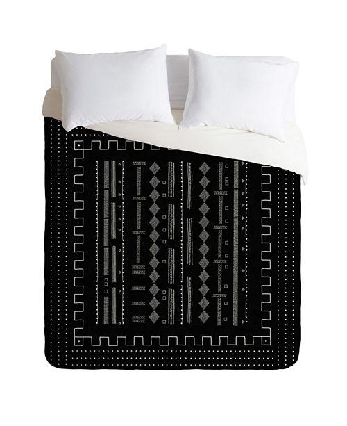 Deny Designs Iveta Abolina Mud Cloth Inspo V Queen Duvet Set