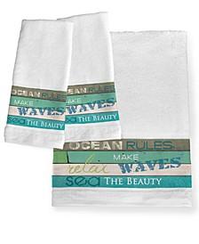 Ocean Rules Bath Towel
