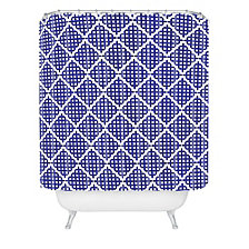 Deny Designs Holli Zollinger Nautical Knots Shower Curtain