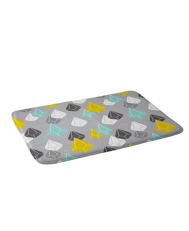 Deny Designs Heather Dutton Raining Gems Whisper Bath Mat