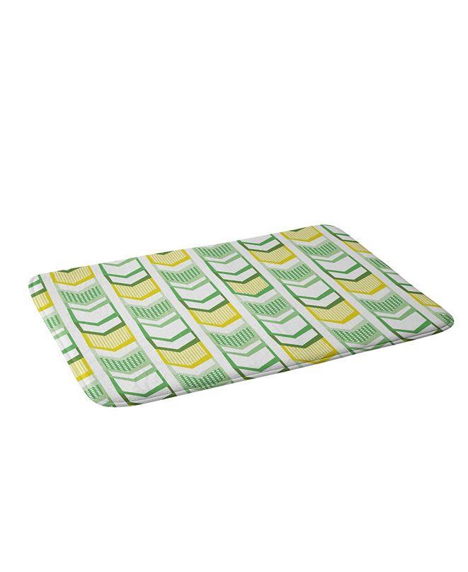 Deny Designs Heather Dutton Right Direction Lemon Lime Bath Mat