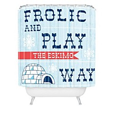 Heather Dutton Frolic And Play Shower Curtain