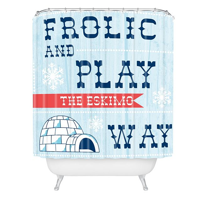 Deny Designs Heather Dutton Frolic And Play Shower Curtain