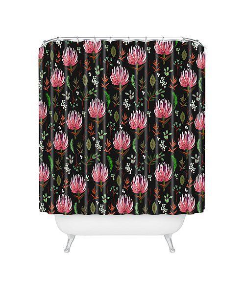 Deny Designs Holli Zollinger Protea Boho Shower Curtain