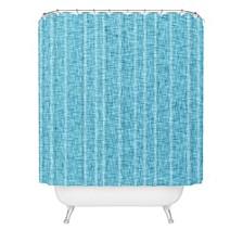 Holli Zollinger Linen Indigo Shower Curtain