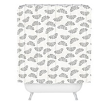 Holli Zollinger Adobo Raincloud Shower Curtain