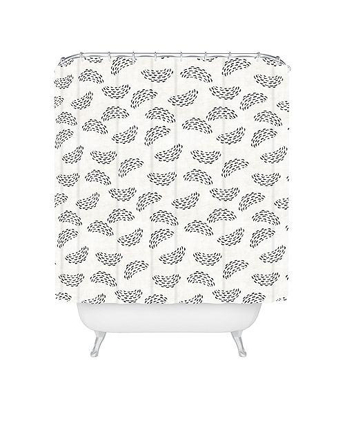 Deny Designs Holli Zollinger Adobo Raincloud Shower Curtain