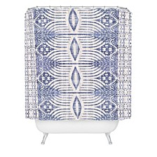 Holli Zollinger French Linen Tribal Ikat Shower Curtain