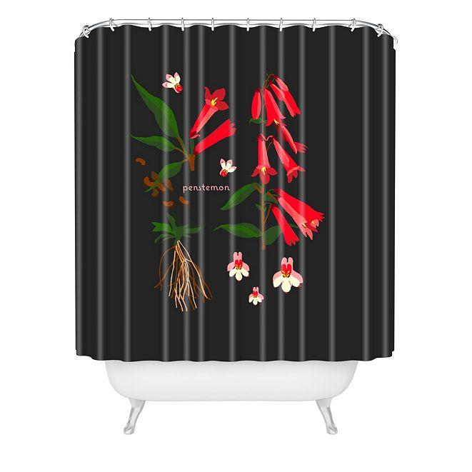 Deny Designs Holli Zollinger Desert Botanical Penstemon Shower Curtain