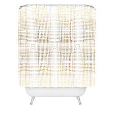 Deny Designs Holli Zollinger Deco Gold Shower Curtain