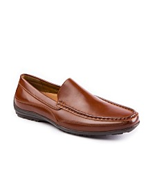 Deer Stags Men's Drive Memory Foam Slip-On Driving Moc Loafer