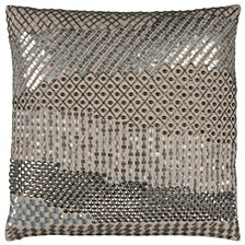 "Donny Osmond 20"" x 20"" Geometric Disco Design Poly Filled Pillow"