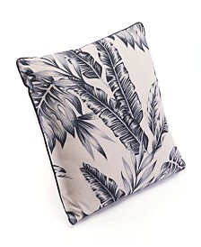Zuo Black Leaves Pillow