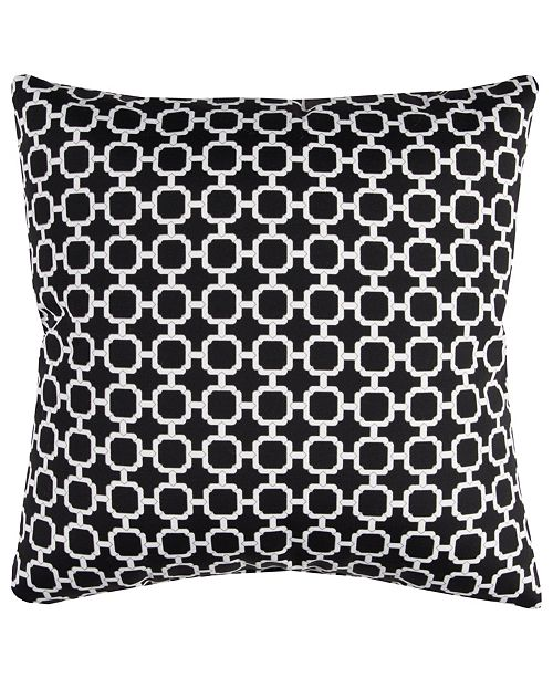 "Rizzy Home Light 22"" x 22"" Hockley Poly Filled Pillow"