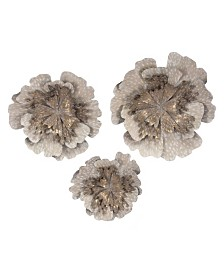 Zuo Antique Flowers, Set Of 3