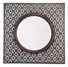 Plaque Mirror Antique Metal